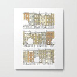 Brooklyn (color) Metal Print