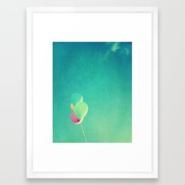 The High Life | Balloons Afloat  Framed Art Print