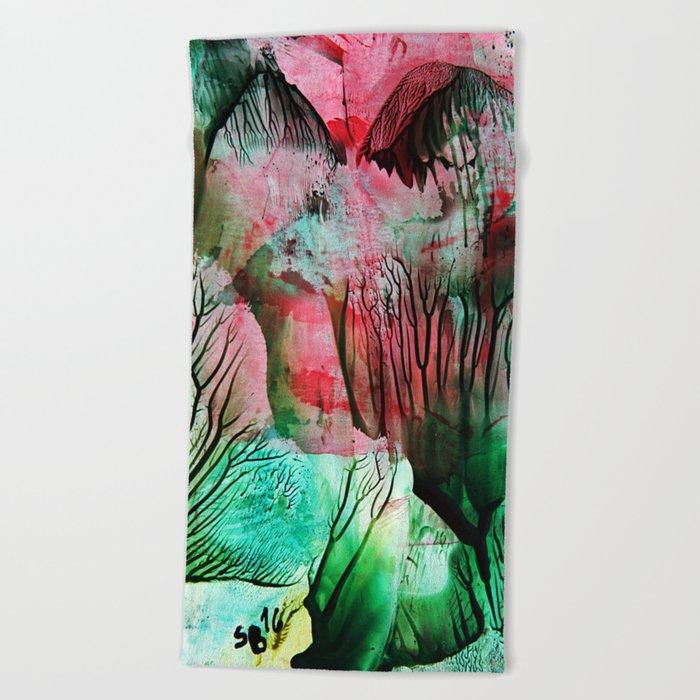 CherryBlossom Beach Towel