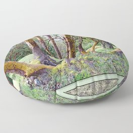 MAGIC MADRONA FOREST Floor Pillow
