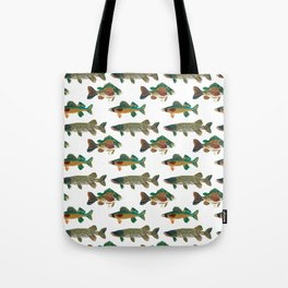 Freshwater Favorites Tote Bag