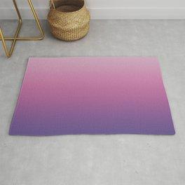 Pink Ultra Violet Ombre Gradient Pattern Rug