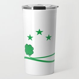 "T-shirt Design Get this cool St.Patrick's Day Souvenir Featuring The Text ""Let's Get Sham Rocked"" Travel Mug"