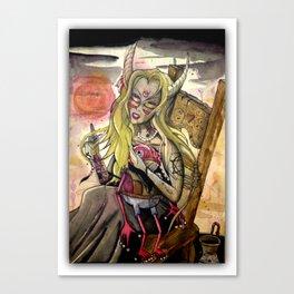 shes a pagan Canvas Print
