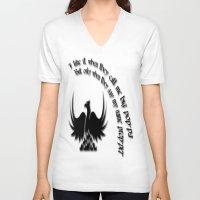 big poppa V-neck T-shirts featuring big poppa by Samual Lewis Davis BMmSt CQU