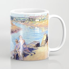 Young anglers at Hayle - Stanhope Alexander Forbes Coffee Mug