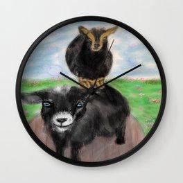 Goatem Pole Wall Clock