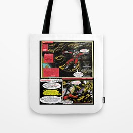 Page # 2 of Tex Watt's  (UNCENSORED) SUNDAY COMIX POP-ART! Tote Bag