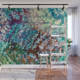 Colorful leaves II Wall Mural