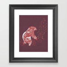 Golden Bear Framed Art Print
