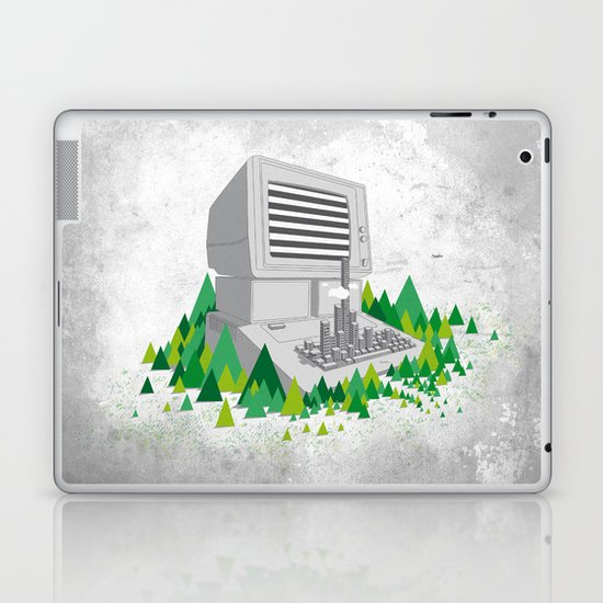 Keyboard City Laptop & iPad Skin
