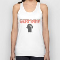 germany Tank Tops featuring Go Germany! by Bunhugger Design