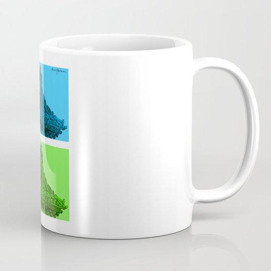 a few reflections on an elegant curve Mug