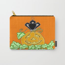 Halloween Crow Roost Carry-All Pouch