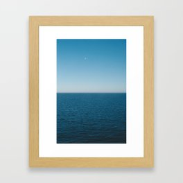 baltic sea Framed Art Print