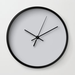 monotone, and deep, grey Wall Clock