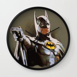 The Bat Returns Wall Clock