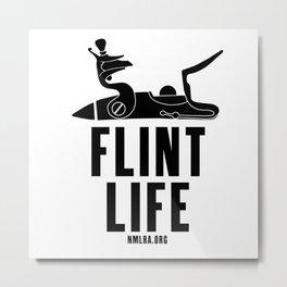 Flint Life - Longhunter Flintlock Metal Print