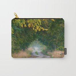 Alley of lime trees in autumn Carry-All Pouch