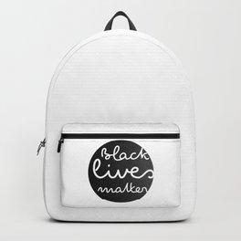 BLACK LIVES MATTER - Black Backpack