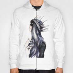 Ice Queen // Fashion Illustration Hoody