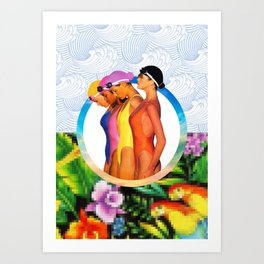 Blossom Waters Art Print
