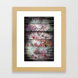 Zebra Rococo Framed Art Print