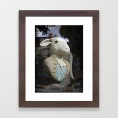 Monsieur Mouton Framed Art Print