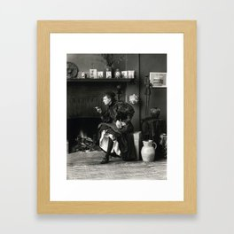 New Woman Framed Art Print
