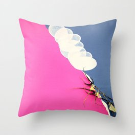 Egg-static Crunch Throw Pillow