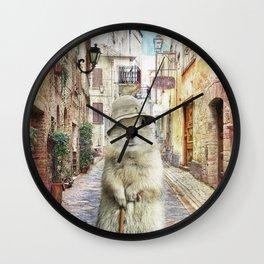 NONNO MANCINI Wall Clock