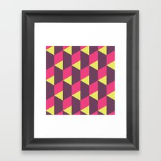 Reflect Steps Framed Art Print