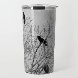 Murder Of Crows - Four Travel Mug