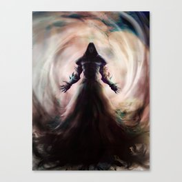 Death Blossom Canvas Print