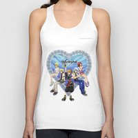 kingdom hearts Tank Tops featuring Kingdom Hearts by clayscence