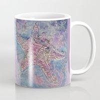 starfish Mugs featuring Starfish by Christine's heART