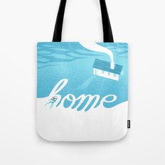 Home is everywhere Tote Bag