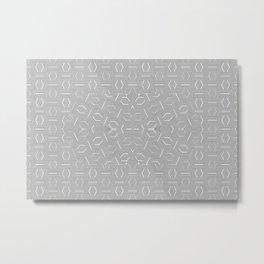 2805 DL pattern 1 Metal Print