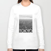tokyo Long Sleeve T-shirts featuring TOKYO by Rothko