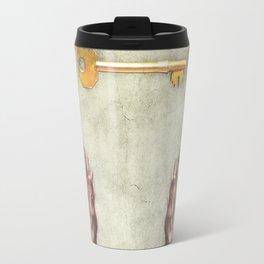 golden key symbol Travel Mug