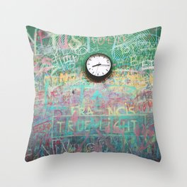 Chalk it up to Time Throw Pillow