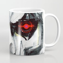 Futuristic Cyborg 4 Coffee Mug