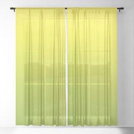 ALOE ISLAND - Minimal Plain Soft Mood Color Blend Prints Sheer Curtain