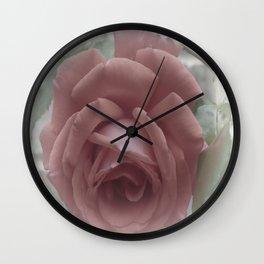 Faded Beauty Wall Clock