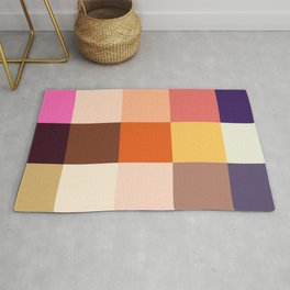 Karakoncolos - Colorful Decorative Abstract Pixel Pattern Rug