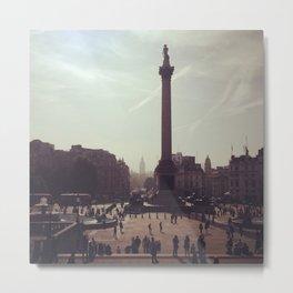 Trafalgar Square Photograph Metal Print