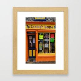 Cooley's Pub Tee Framed Art Print