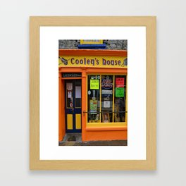 Cooley's Pub Tee Framed Art Print