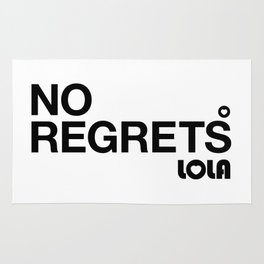 No Regrets Rug