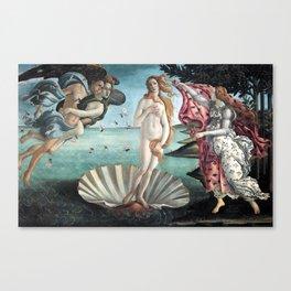 The Birth of Venus, Sandro Botticelli Canvas Print